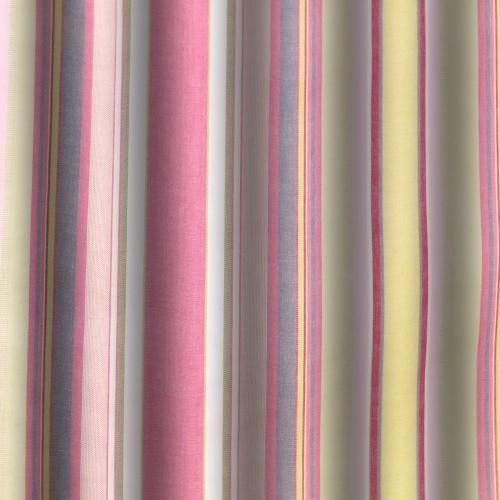 Gordon Smith Chunky Stripe Azalee Curtain Fabric