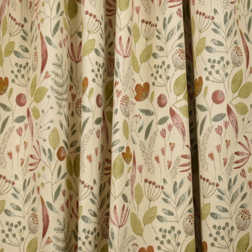 Voyage Winslow Cream Autumn Curtain Fabric