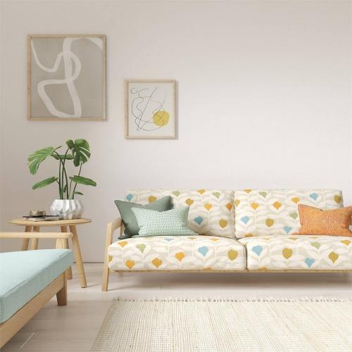 Scion Padukka Tangerine Fabric 120875