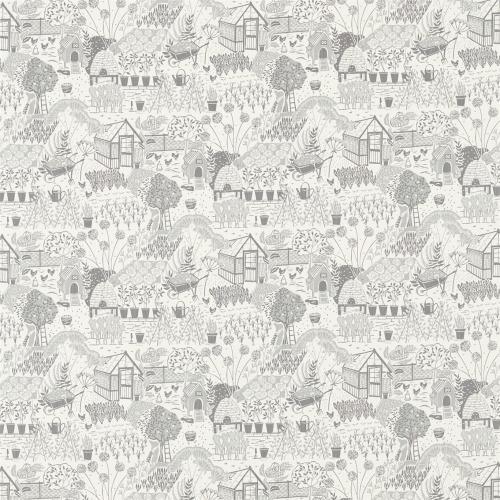 Sanderson Home The Allotment Dove Fabric 226359
