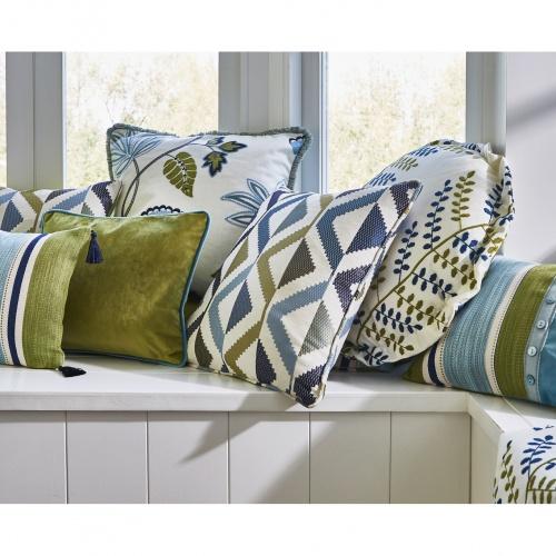 Prestigious Cadiz Indigo Fabric 3694/705