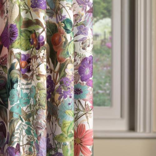 Fibre Naturelle Chelsea Lavish Curtain Fabric