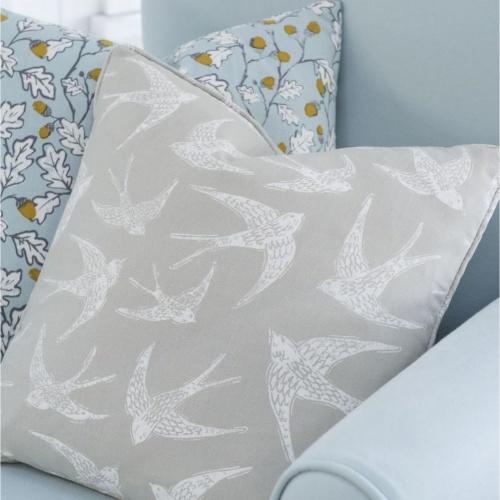 Studio G Acorn Trail Duckegg Fabric F1182/01