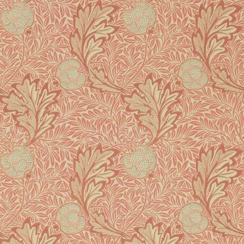 Morris & Co Apple Rust Gold Wallpaper 216688