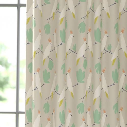 Scion Love Birds Flamenco Fabric 120886