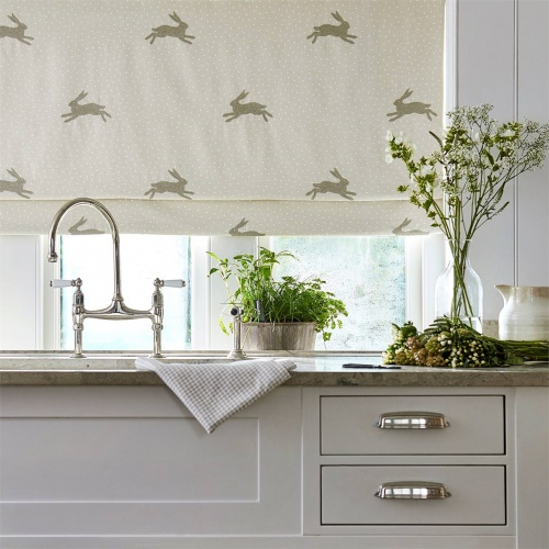 Sanderson Home Warren Flint Fabric 236433