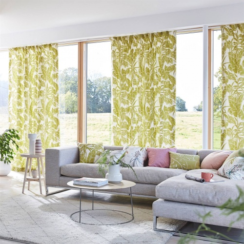 Scion Parlour Palm Citrus Fabric 120770
