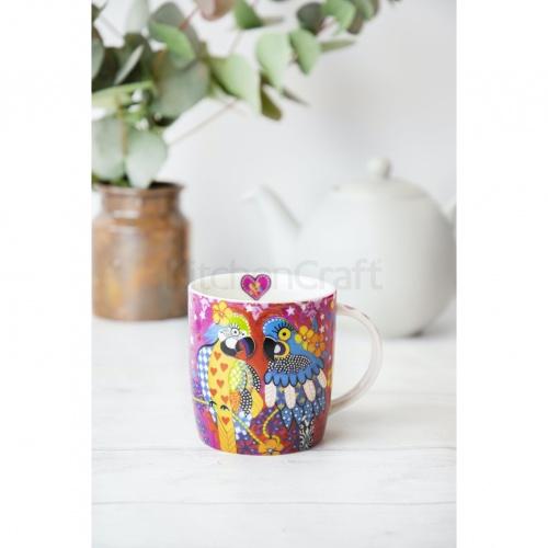 Maxwell & Williams Araras Mug & Coaster Set
