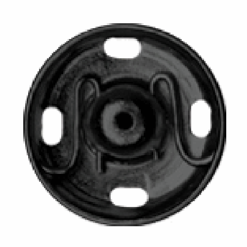 Black Sew-on Snap Fasteners | 11mm