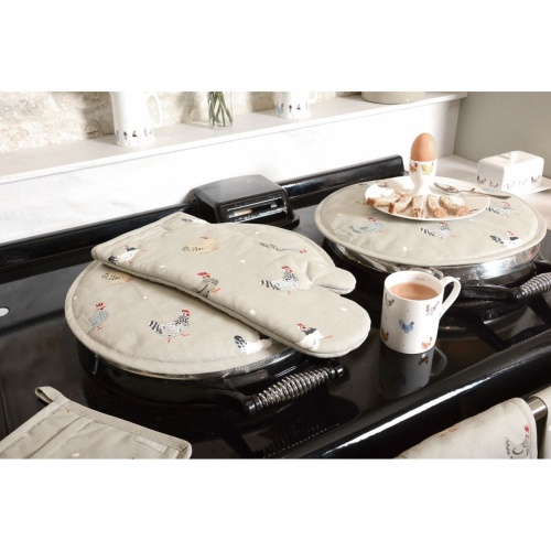 Sophie Allport Lay a Little Egg Round Hob Cover