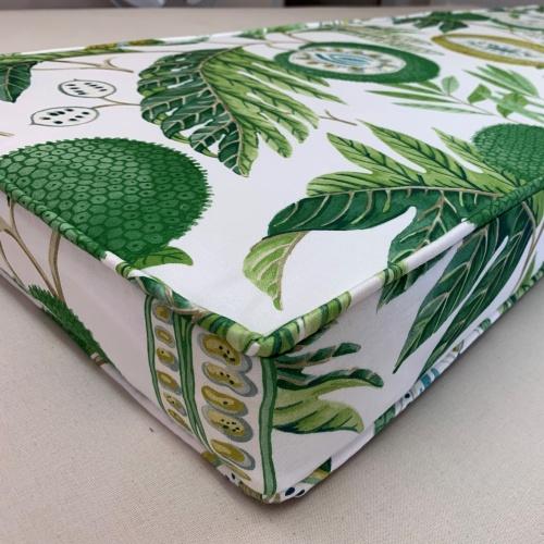 Sanderson Jackfruit Botanical Green Fabric 226559