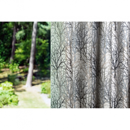 Fibre Naturelle Bolderwood Furzey Curtain Fabric BOLD/02