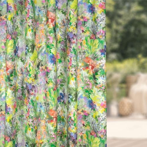 Fibre Naturelle Secret Garden Eden Curtain Fabric SG/01
