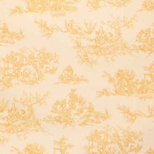 Gordon Smith Toile Gold Fabric