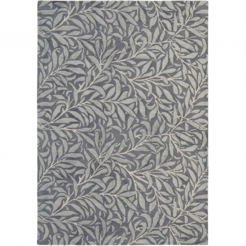Morris & Co Willow Bough Charcoal Rug 28305