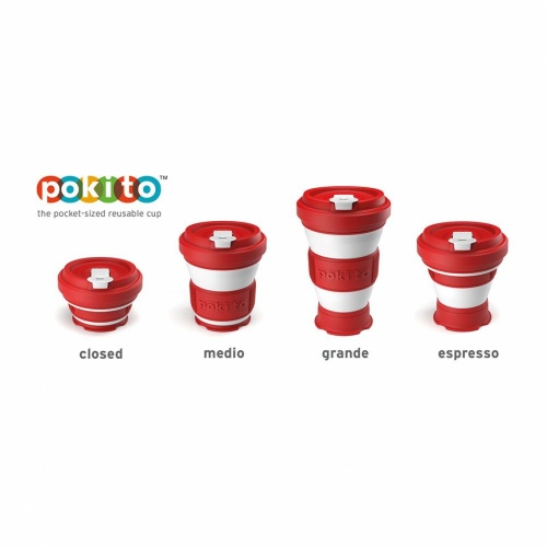 Pokito Pop Up Cup Cherry