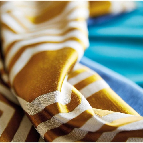 Harlequin Selo Gold Curtain Fabric 132959