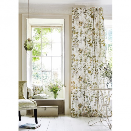 Prestigious Aquarelle Wild Rose Fabric 8675/254