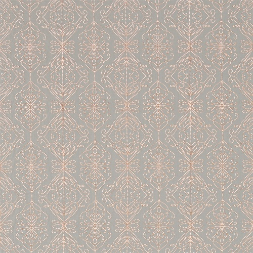 Harlequin Java Stone/Papaya Curtain Fabric 131516