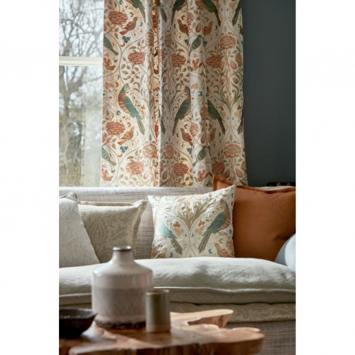Morris & Co Seasons by May Saffron Fabric 226593
