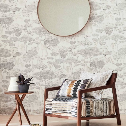 Harlequin Nirmala Pebble Curtain Fabric 133066