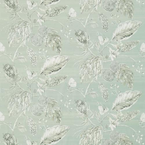 Harlequin Amborella Silk Seaglass Curtain Fabric 120419