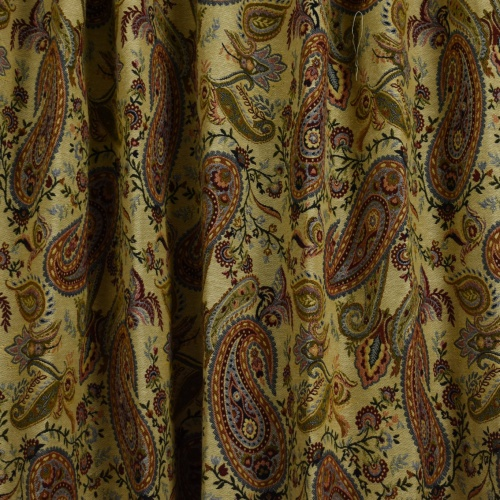 Gordon Smith Paisley Jacquard Curtain Fabric