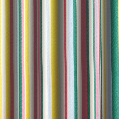 Gordon Smith Funky Stripe Pink Curtain Fabric
