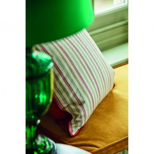 Sanderson Melford Stripe Fern Fabric 237212