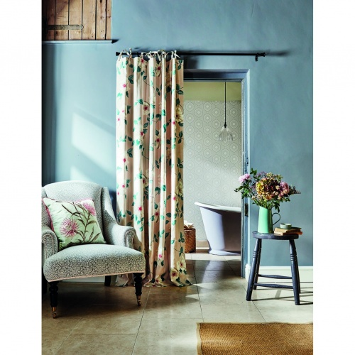 Sanderson Poet's Rose Linen Fabric 226738