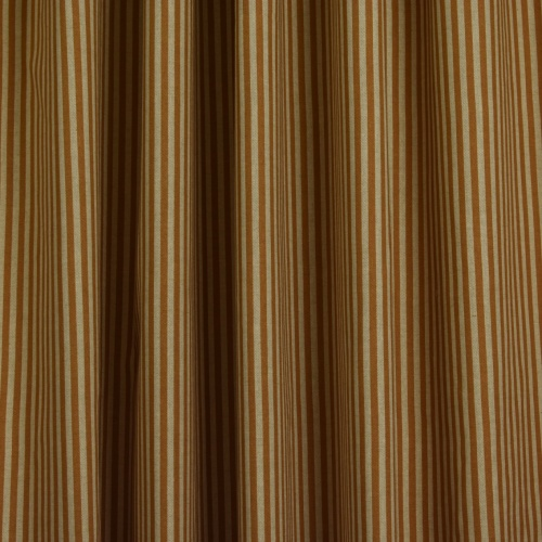 Gordon Smith Linen Look Stripe Orange Fabric