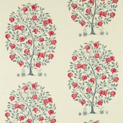 Sanderson Anaar Tree Blueberry Fabric 226629