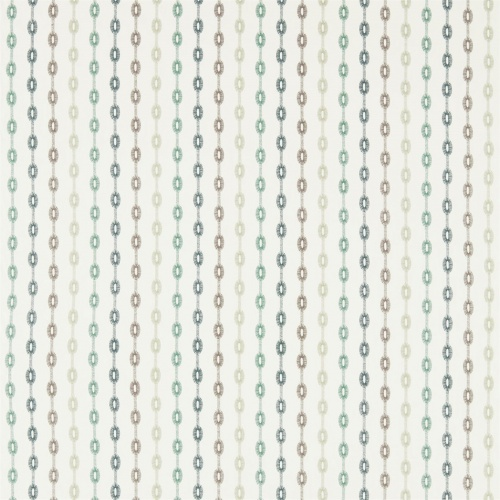 Sanderson Home Shaker Stripe Winter Rocket Curtain Fabric 235893