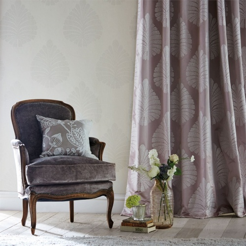Harlequin Kamille Mauve Curtain Fabric 131553