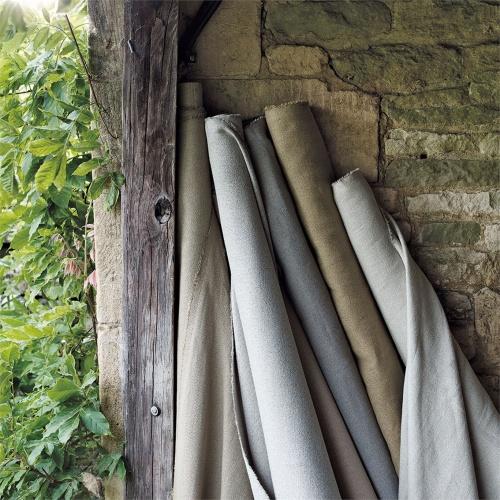 Sanderson Woodland Plain Linen Fabric 235615
