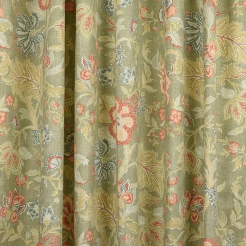 Gordon Smith Jacobin Grey Curtain Fabric