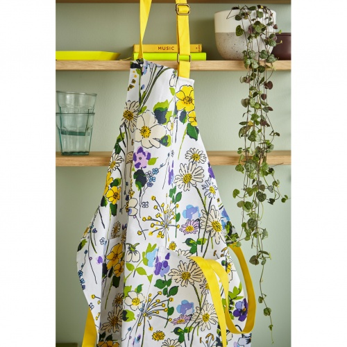Ulster Weavers  Wild Flowers Cotton Apron