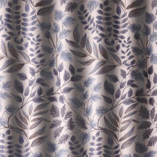 Voyage Listaro Bluebell Curtain Fabric