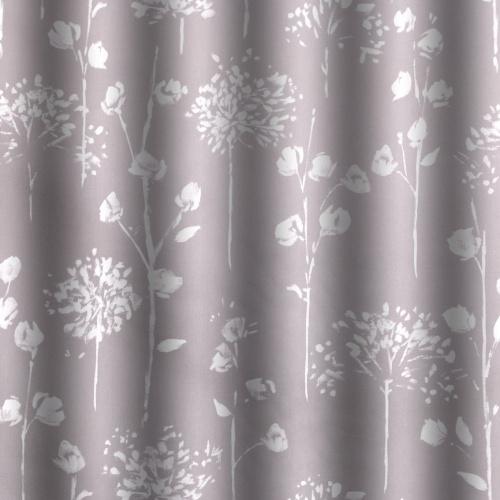 Gordon Smith Blossom Grey Curtain Fabric