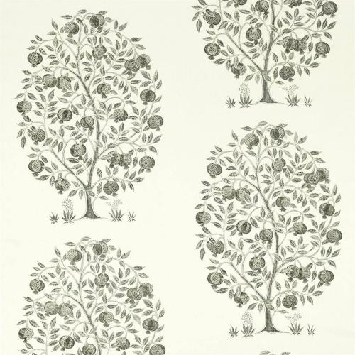 Sanderson Anaar Tree Charcoal Fabric 226630