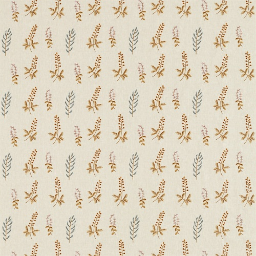 Sanderson Home Bilberry Denim/Barley Fabric 236423