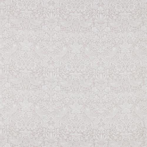 Morris & Co Pure Strawberry Thief Dove Fabric 226060