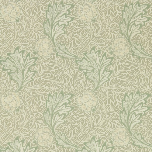 Morris & Co Apple Bay Leaf Wallpaper 216689