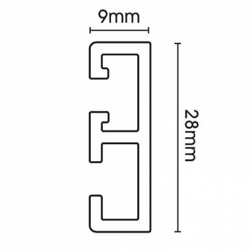Swish Supreme Glide Track 500cm