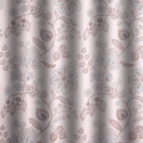 Voyage Hartwell Duck Egg Curtain Fabric