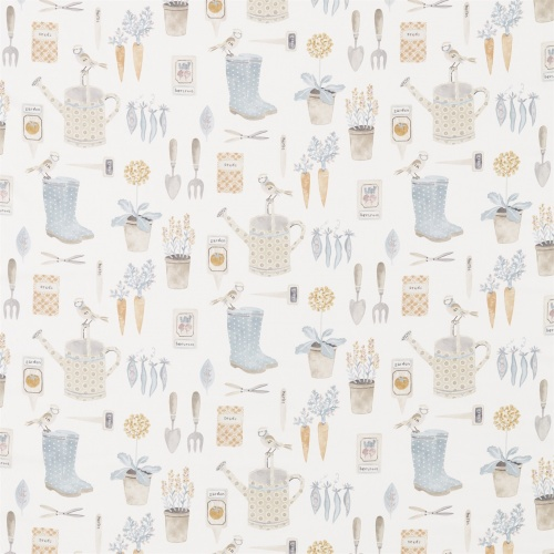 Sanderson Home The Gardener Stone Fabric 226349