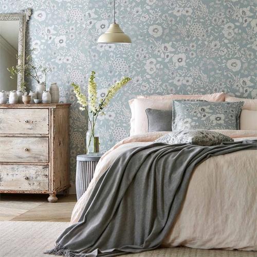 Sanderson Home Maelee Mineral Wallpaper 216348