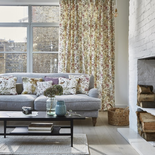 Prestigious Bluebell Wood Auburn Fabric 8637/337