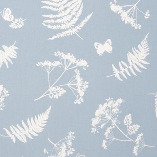 Clarke & Clarke Moorland Denim Curtain Fabric