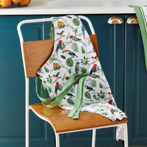 Ulster Weavers Tropical Birds Cotton Apron